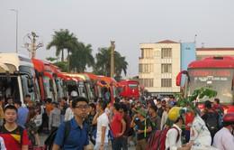 Vận tải hành khách tăng chuyến trong dịp nghỉ lễ