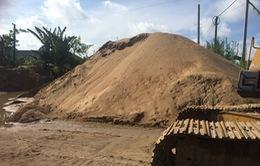 Quảng Nam: Giá cát tăng cao vì tạm thời đóng cửa mỏ