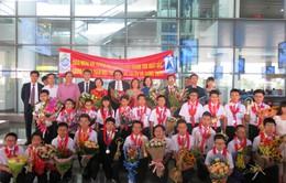 Đoàn thi Toán học trẻ quốc tế: Chúng em tự hào vì làm rạng danh Tổ quốc!