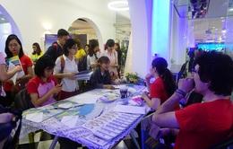 Sinh viên thủ đô háo hức tham gia Ngày hội Sinh viên sáng tạo, khởi nghiệp