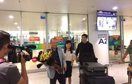 Tân HLV ĐT Việt Nam đã có mặt tại Hà Nội và sẽ dự khán trận gặp ĐT Campuchia