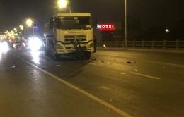 Làm rõ vụ tai nạn khiến 3 người tử vong trên cầu Vĩnh Tuy, Hà Nội