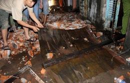 Cháy lớn trong đêm, 1 ngôi nhà bị thiêu rụi