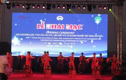 Hội chợ nông sản liên hiệp Hợp tác xã lần đầu tiên tại Hà Nội
