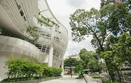 Độc đáo kiến trúc cây xanh của Nhà Thiếu nhi TP.HCM