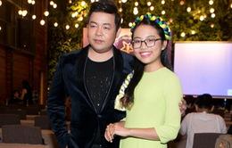 Phương Mỹ Chi bất ngờ xuất hiện cùng ba nuôi Quang Lê tại họp báo Thần tượng Bolero