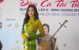 Hoa hậu Mỹ Linh làm gương mặt đại diện cho Festival Đờn ca tài tử