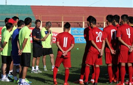 VIDEO: U20 Việt Nam vã mồ hôi rèn quân chuẩn bị cho VCK U20 World Cup 2017
