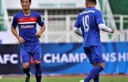 VIDEO: ĐT U23 Việt Nam tập buổi đầu tiên trên sân Thành Long