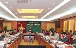 UB Kiểm tra Trung ương kết luận sai phạm của Ban cán sự đảng Bộ Tài nguyên và Môi trường