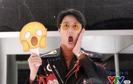 """""""Chết cười"""" với loạt biểu cảm cực nhắng của Rocker Nguyễn"""