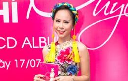 Á quân Sao mai Hồng Duyên ra mắt album đầu tay