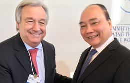 Thủ tướng gặp gỡ, tiếp xúc song phương tại Davos