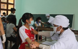 Người dân ở ổ dịch bạch hầu cần uống thuốc, tiêm vaccine theo đúng yêu cầu