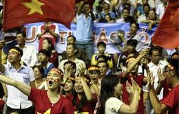 VTV Cup Tôn Hoa Sen 2017: Người hâm mộ phủ kín nhà thi đấu tỉnh Hải Dương
