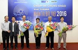 Đang chấm chung khảo Nhân tài Đất Việt 2016 lĩnh vực CNTT
