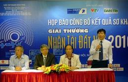 Bí quyết giành giải cao Nhân tài Đất Việt 2016