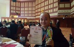 Quán quân Nhân tài Đất Việt 2016 giật giải vàng ASEAN ICT Award