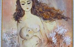 'Âm thanh từ lồng ngực trái' của hai mẹ con nhà thơ Lê Thị Kim