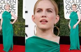 Thảm đỏ Quả cầu vàng: Người mặc đẹp, kẻ thành 'thảm họa' thời trang