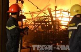 Khống chế vụ cháy lớn trong đêm tại Công ty Suzuki Việt Nam