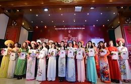 Cuộc thi 'Người đẹp Kinh Bắc 2017': 'Du Xuân trẩy hội miền quan họ' cùng 30 nhan sắc