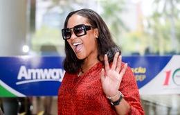Nữ ca sỹ da màu Shontelle đến Việt Nam tham dự Hoa khôi Du lịch Việt Nam 2017