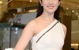 Lưu Diệc Phi lộ diện đẹp xinh sau tin đồn mang thai với Song Seung Heon