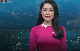 BTV Thu Hà trở lại bản tin Thời sự VTV 19h: 'Tôi đã tập luyện rất nhiều'