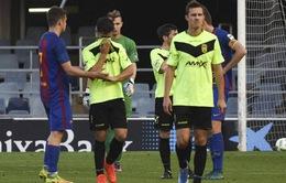 Trận Barcelona B thắng 12-0 bị tố dàn xếp tỷ số