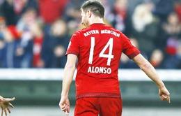 Vòng 1/8 Cúp QG Đức: Xabi Alonso lập siêu phẩm khó tin. Chicharito lại ghi bàn
