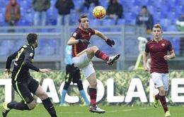 Roma 1-1 Hellas Verona: Thay tướng chưa đổi vận