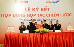 Savico ký kết hợp tác chiến lược với Vietinbank