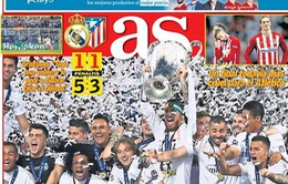 Báo thân Barca từ chối nói về chức vô địch Champions League của Real Madrid