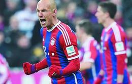 Stuttgart - Bayern Munich: Cả Bundesliga đều phải sợ Robben