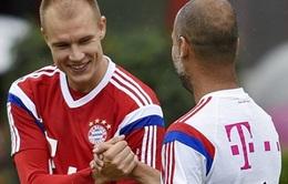 Pep Guardiola lại gây sốt với câu nói: 'Badstuber, I love you'