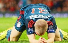 Guardiola dùng đội hình... 3, Bayern thất bại, kết thúc chuỗi 53 trận bất bại