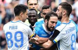 Higuain bị cấm 4 trận, Napoli kháng án trong tuyệt vọng