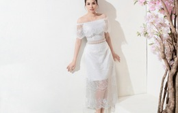 Phạm Hương khoe đường cong với loạt váy xuyên thấu