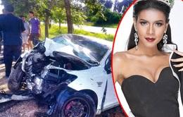 Người đẹp Thái Lan tử nạn sau 4 ngày đăng quang hoa hậu