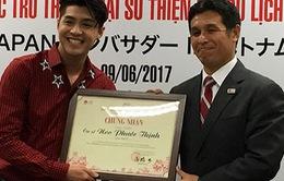 Noo Phước Thịnh trở thành Đại sứ thiện chí du lịch Nhật Bản