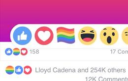 """Biểu tượng cảm xúc """"lá cờ 6 màu"""" đang khuấy đảo Facebook"""
