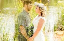 """Cảm động ảnh cưới của cặp đôi """"tử thần cũng không thể chia lìa"""""""
