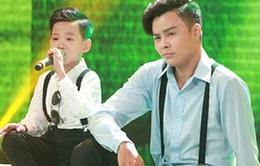 """""""Cậu bé mê hát rock"""" khiến khán giả bật cười vì đối đáp hài hước"""