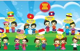Thiếu nhi ASEAN khám phá phố đi bộ ngày 1/6