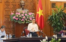 Phó Thủ tướng Vũ Đức Đam làm việc với các bộ, ngành về Quy hoạch khu du lịch quốc gia Sơn Trà