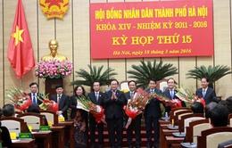 Hà Nội bầu 3 Phó Chủ tịch UBND Thành phố