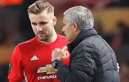 Mourinho không mua hậu vệ trái, Luke Shaw mừng thầm