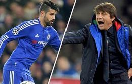 TIẾT LỘ tin nhắn 'phũ phàng' mà Antonio Conte gửi cho Diego Costa