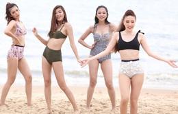 """Top 10 The Face diện bikini khoe dáng """"bỏng mắt"""""""